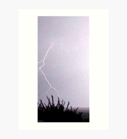 Lightning 2012 Collection 12 Art Print