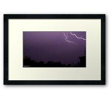 Lightning 2012 Collection 14 Framed Print