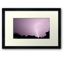 Lightning 2012 Collection 16 Framed Print
