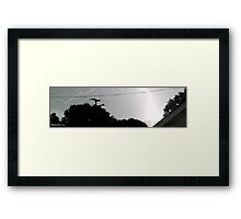 Lightning 2012 Collection 17 Framed Print