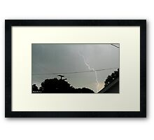 Lightning 2012 Collection 18 Framed Print