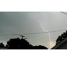 Lightning 2012 Collection 18 Photographic Print