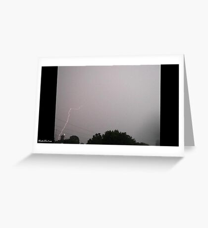 Lightning 2012 Collection 21 Greeting Card