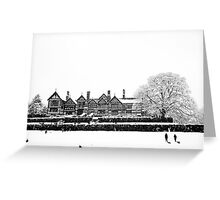 Bramhall Park in the Snow Greeting Card
