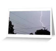 Lightning 2012 Collection 30 Greeting Card