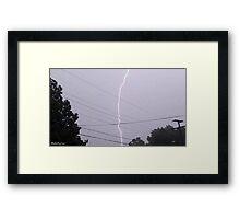 Lightning 2012 Collection 32 Framed Print