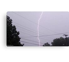 Lightning 2012 Collection 32 Canvas Print