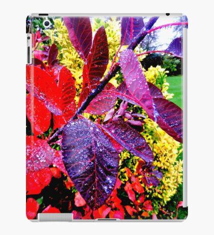 Dew on Leaves iPad Case/Skin