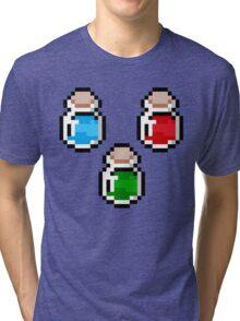 Zelda Potions V.2 Tri-blend T-Shirt