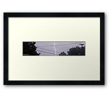 Lightning 2012 Collection 33 Framed Print