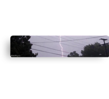 Lightning 2012 Collection 33 Canvas Print