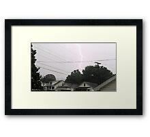Lightning 2012 Collection 35 Framed Print