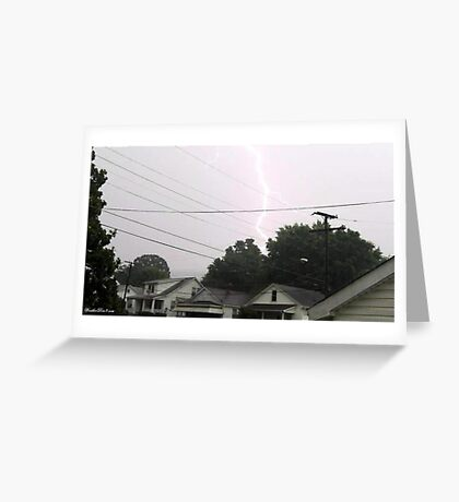 Lightning 2012 Collection 35 Greeting Card