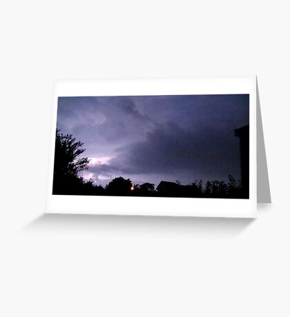 Lightning 2012 Collection 38 Greeting Card