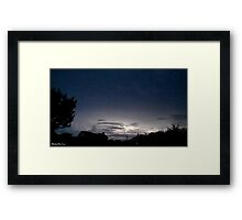 Lightning 2012 Collection 40 Framed Print