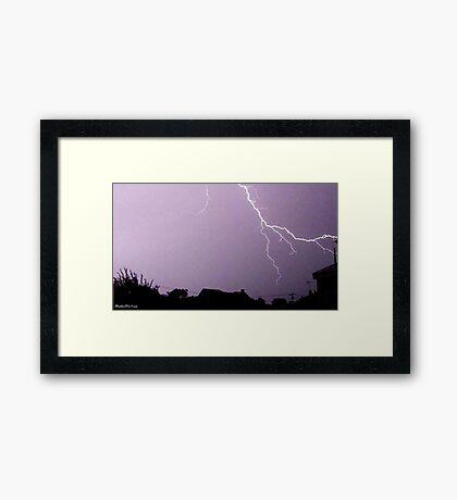 Lightning 2012 Collection 42 Framed Print