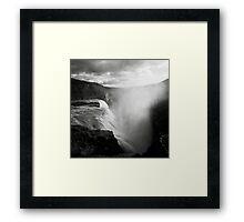 Iceland: Gullfoss Framed Print