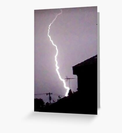 Lightning 2012 Collection 45 Greeting Card