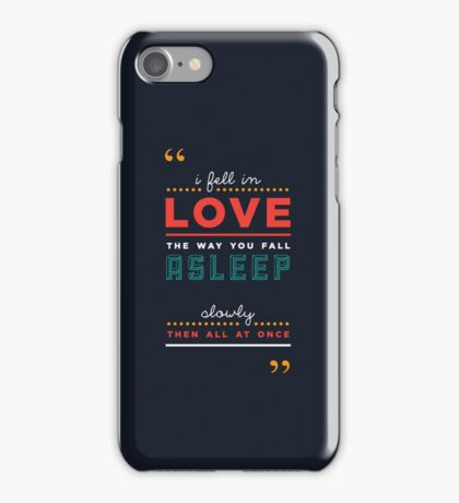 iPHONE CASE - 'The fault in our stars' by John Green iPhone Case/Skin