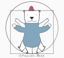 Vitruvian Bear Kids Tee