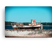 Le Boat. Canvas Print