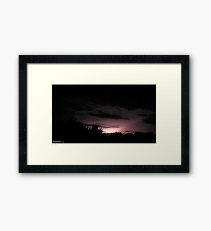 Lightning 2012 Collection 47 Framed Print
