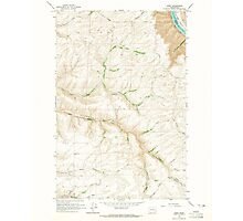 USGS Topo Map Washington State WA Kirby 241777 1964 24000 Photographic Print
