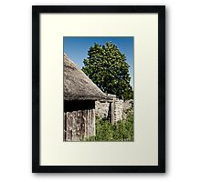 The Barn. The Tree. Framed Print