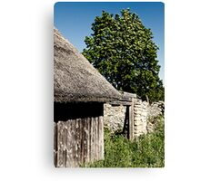The Barn. The Tree. Canvas Print