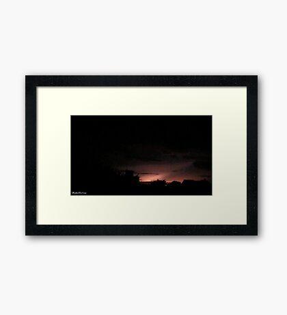 Lightning 2012 Collection 48 Framed Print