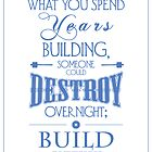 """""""Build Anyway"""" by leannesore"""