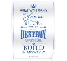 """Build Anyway"" Poster"