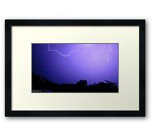 Lightning 2012 Collection 63 Framed Print