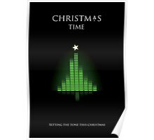 Setting The Tone At Christmas Poster