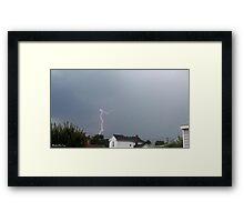 Lightning 2012 Collection 76 Framed Print