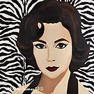 Elizabeth Taylor by KristinFreeman
