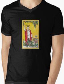 Tarot Card - the Magician Mens V-Neck T-Shirt