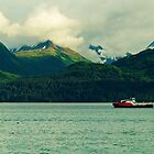 Fish Collection Boat at Valdez by Yukondick