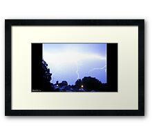 Lightning 2012 Collection 89 Framed Print