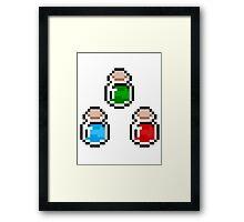 Zelda Potions V.3 Framed Print