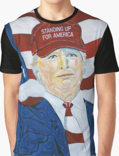 Standing up for America Graphic T-Shirt