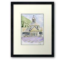 Senanque Abbey Provence Framed Print