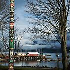 Totem Pole at Horseshoe Bay by Yukondick