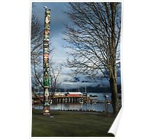 Totem Pole at Horseshoe Bay Poster