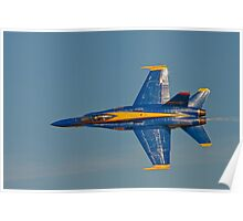 Blue Angel - Top View Poster
