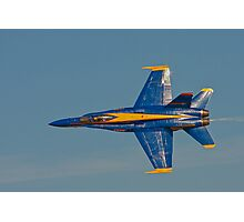 Blue Angel - Top View Photographic Print