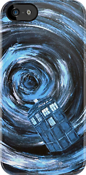 Doctor Who inspiration - Travelling with the Tardis by Beata Belanszky Demko