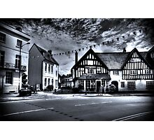 Black & White Town Photographic Print