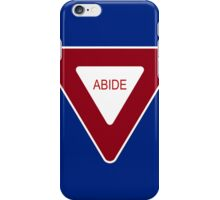 Abide [Tee & Case] iPhone Case/Skin
