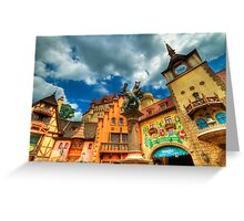 EPCOT - GERMANY Greeting Card